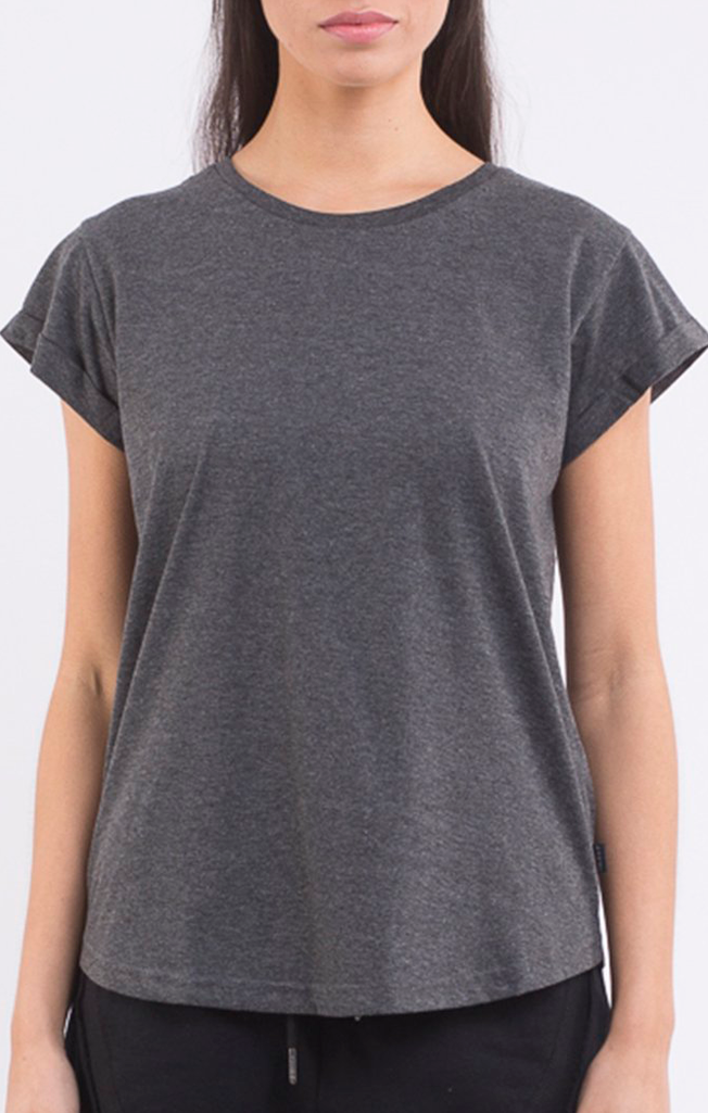 Lucy Tee Charcoal Marle