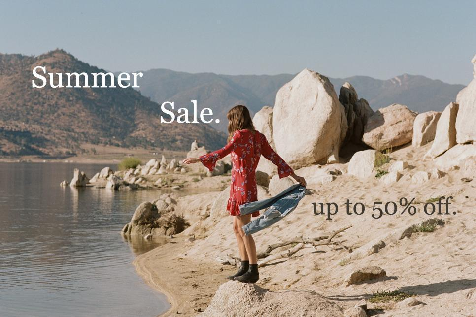 Shop Summer Sale online at Ebony and Chrome