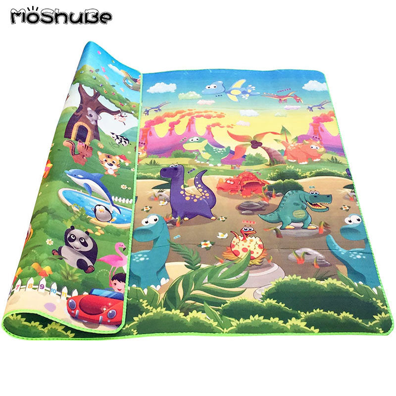 Double Side Baby Play Mat 0.5cm Foam Developing Mat for Children's Rug Carpet Kids Toys Gym Game