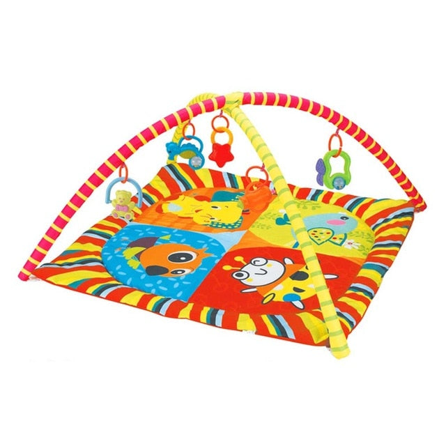 Baby Play Mat Kids Rug Educational Puzzle Carpet With Piano Keyboard & Cute Animal Baby Gym