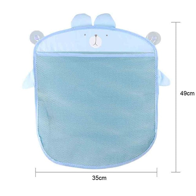 Baby Cloth Bath Tub Waterproof Toy Hanging Storage Triangle Bag Kids Toys Sort Collection Aid Ideal Toy Management Gadget