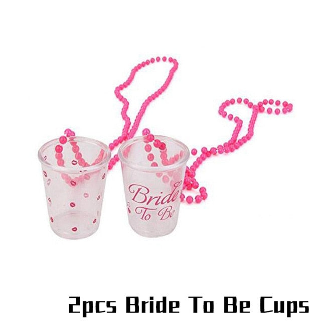 Disposable Bachelorette Hen Party Tableware Bride To Be Team Wedding decoration Bridal Shower Party Favors Decoration Supplies
