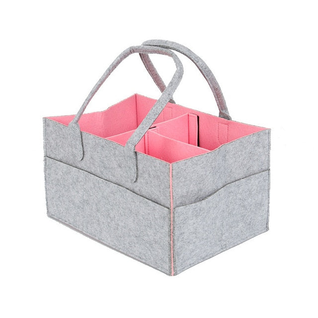 Storage Bag Foldable Baby Large Size Diaper Caddy Changing Table Organiser Toy