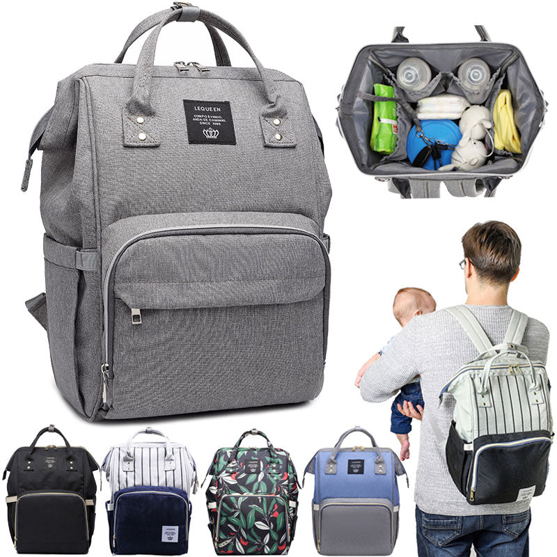 Diaper Bag Baby Bags Waterproof Maternity Backpack Bag for Mother Nursing Nappy Bags Large Mommy Bag Baby Accessories