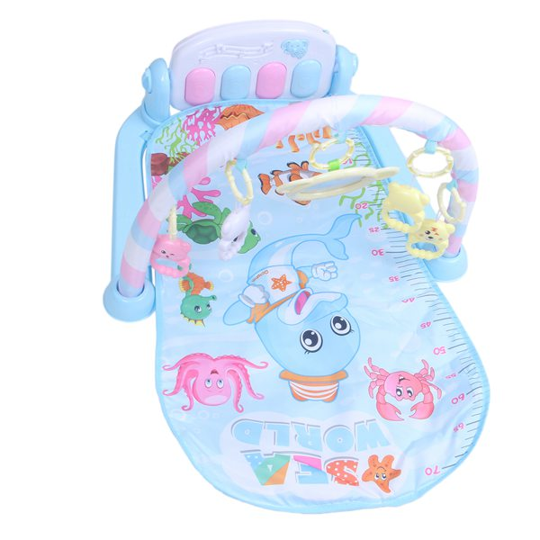 Baby Play Music Mat Crawling Play mat Game Develop Mat with Piano Keyboard Infant Rug Early