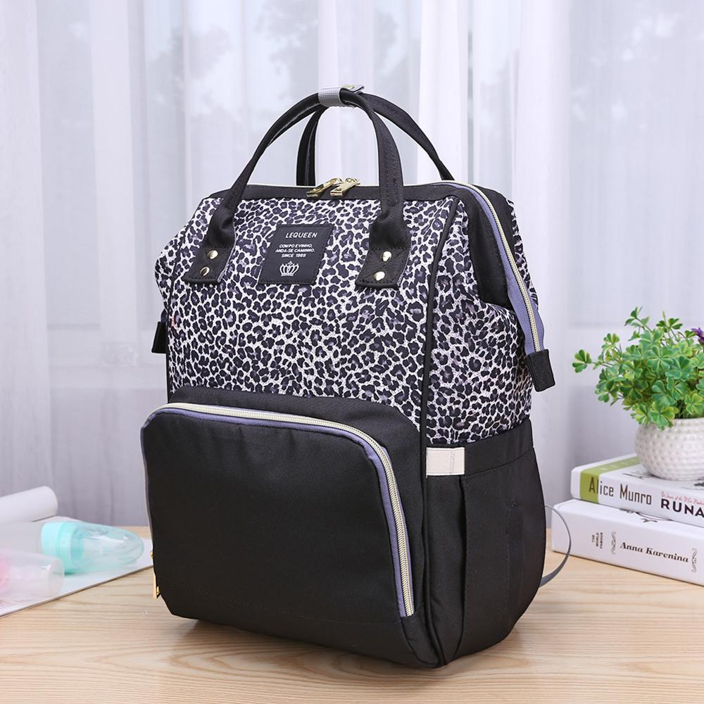 Fashion Mummy Maternity Nappy Bag Large Capacity Baby Bag Outdoor Travel Nursing Backpack For Mom Desinger Bag Baby Organizer