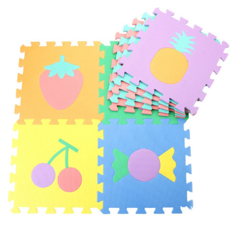 10pcs Alphabet Baby Play Mats Toy Foam Puzzle Mats EVA Educational Play Mat Baby Crawling Pad Carpet