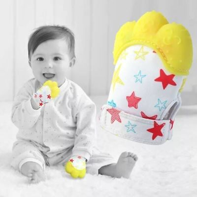 Toddler Toys 1pcs Food Grade Silicone Teethers Infant Teething Gloves
