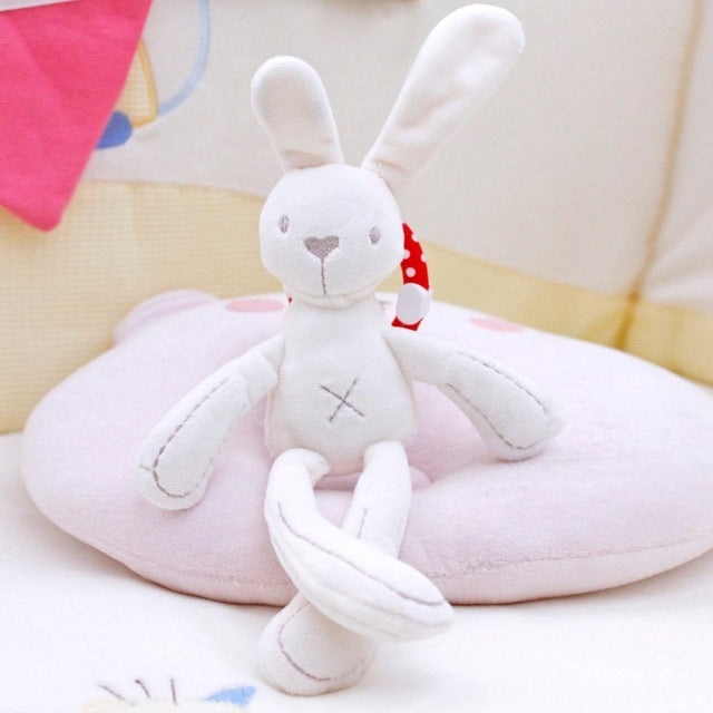 New Bunny Rabbit Bear Doll Baby Soft Plush Toys For Children Bunny Sleeping Mate Stuffed &Plush Animal Baby Toys For Infants