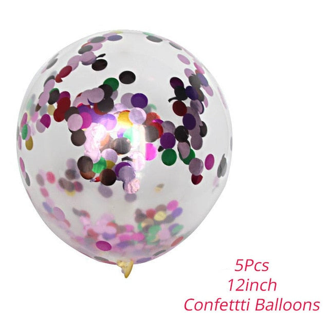 7 Tubes Balloons Stand Balloon Holder Column Confetti Balloon Baby Shower Kids Birthday Party Wedding Decoration Supplies