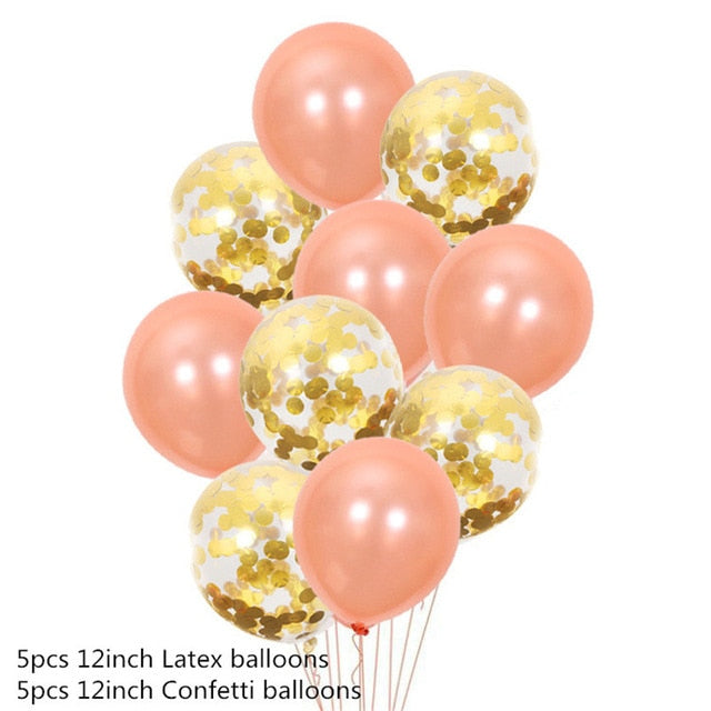 16 inch Letters HAPPY BIRTHDAY Foil Balloons Happy Birthday Party Decoration Kids Alphabet Air Balloons Baby Shower Supplies