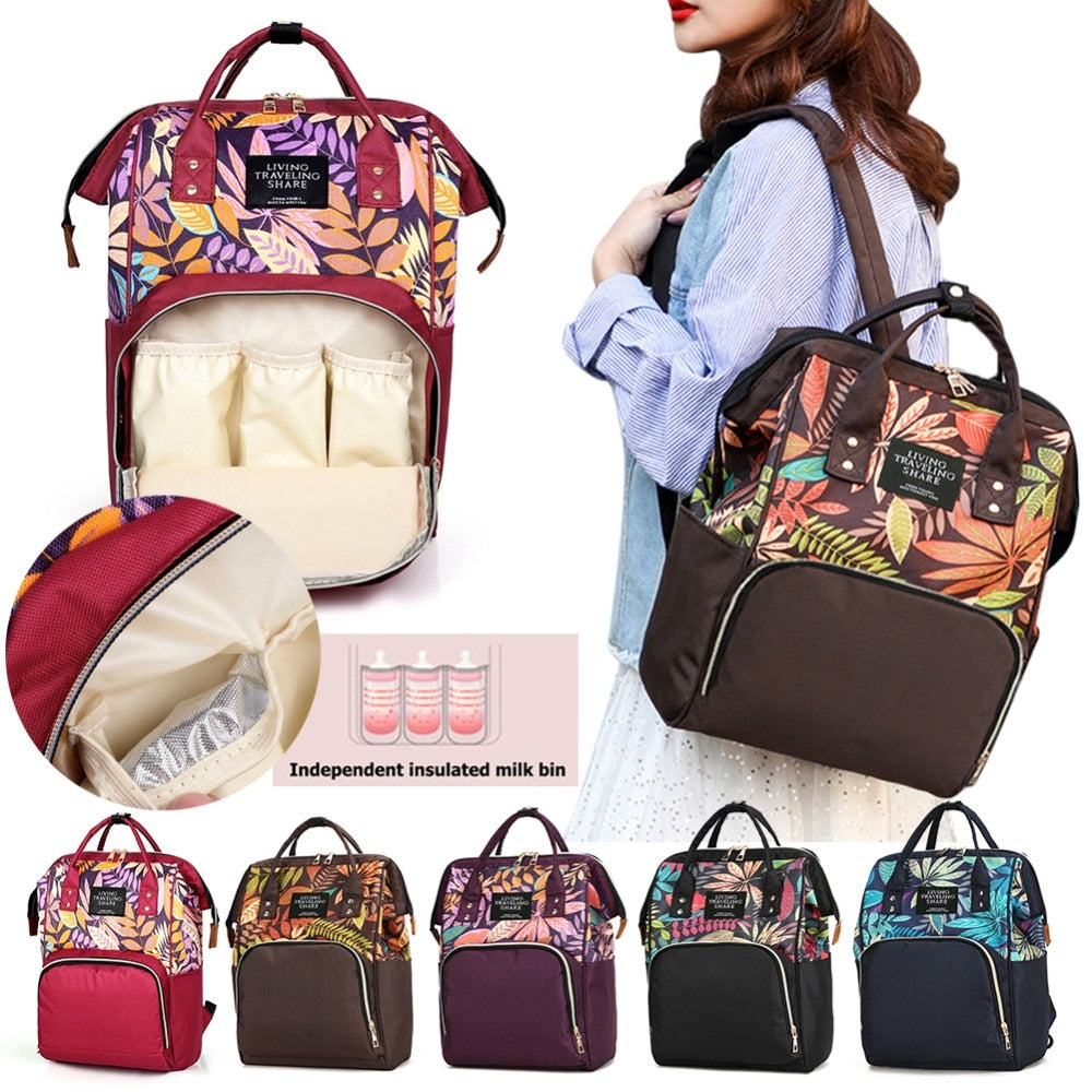 Mummy Diaper Bag Maternity Backpacks Nappy Organizer Bags