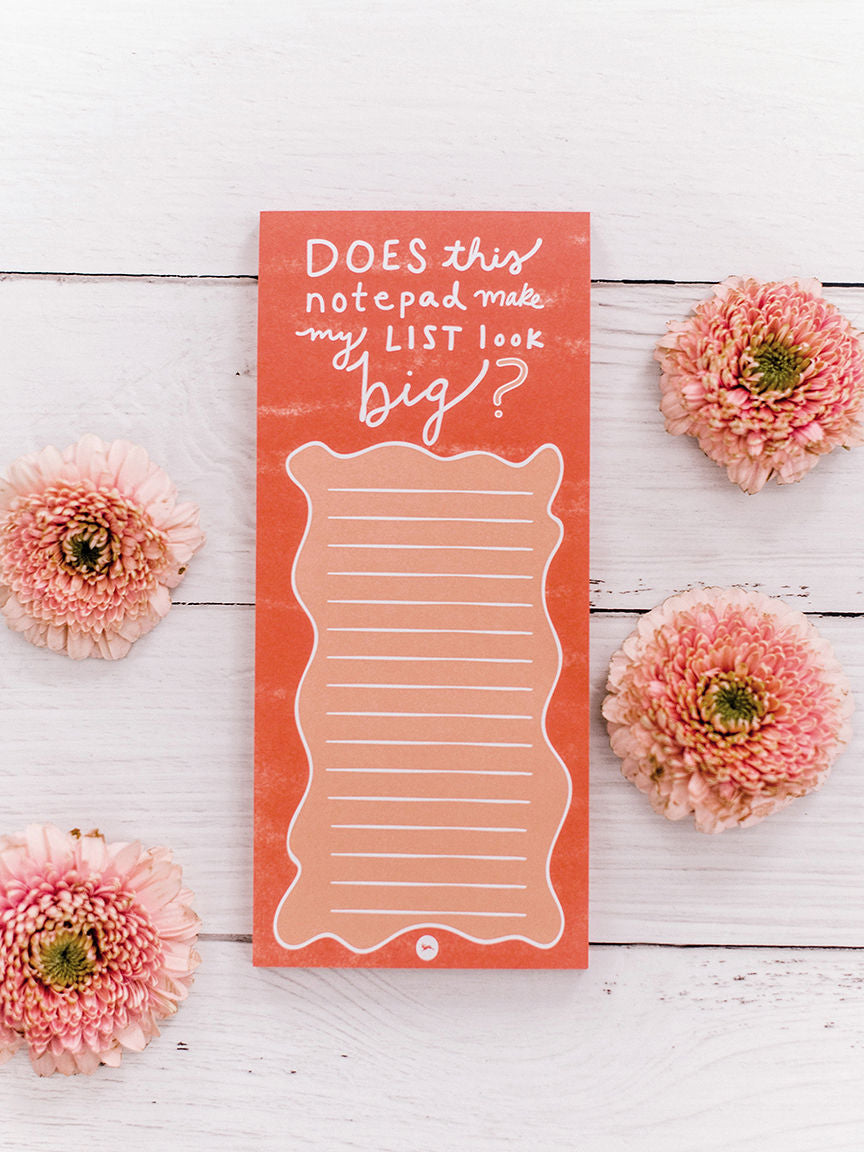Doe a Deer Notepad-Does This Notepad Make My List Look Big