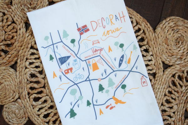 Decorah Flour Sack Towel