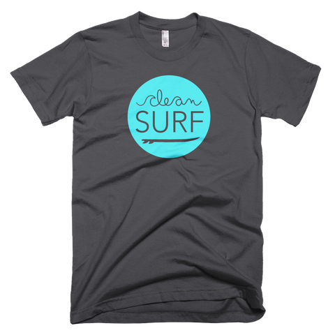 Short Sleeve - Clean Surf Solid Tee - Dark Grey
