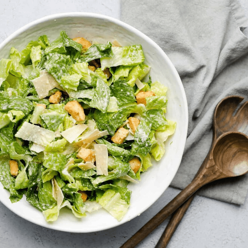 Classic Caesar Salad - The Chef's Garden