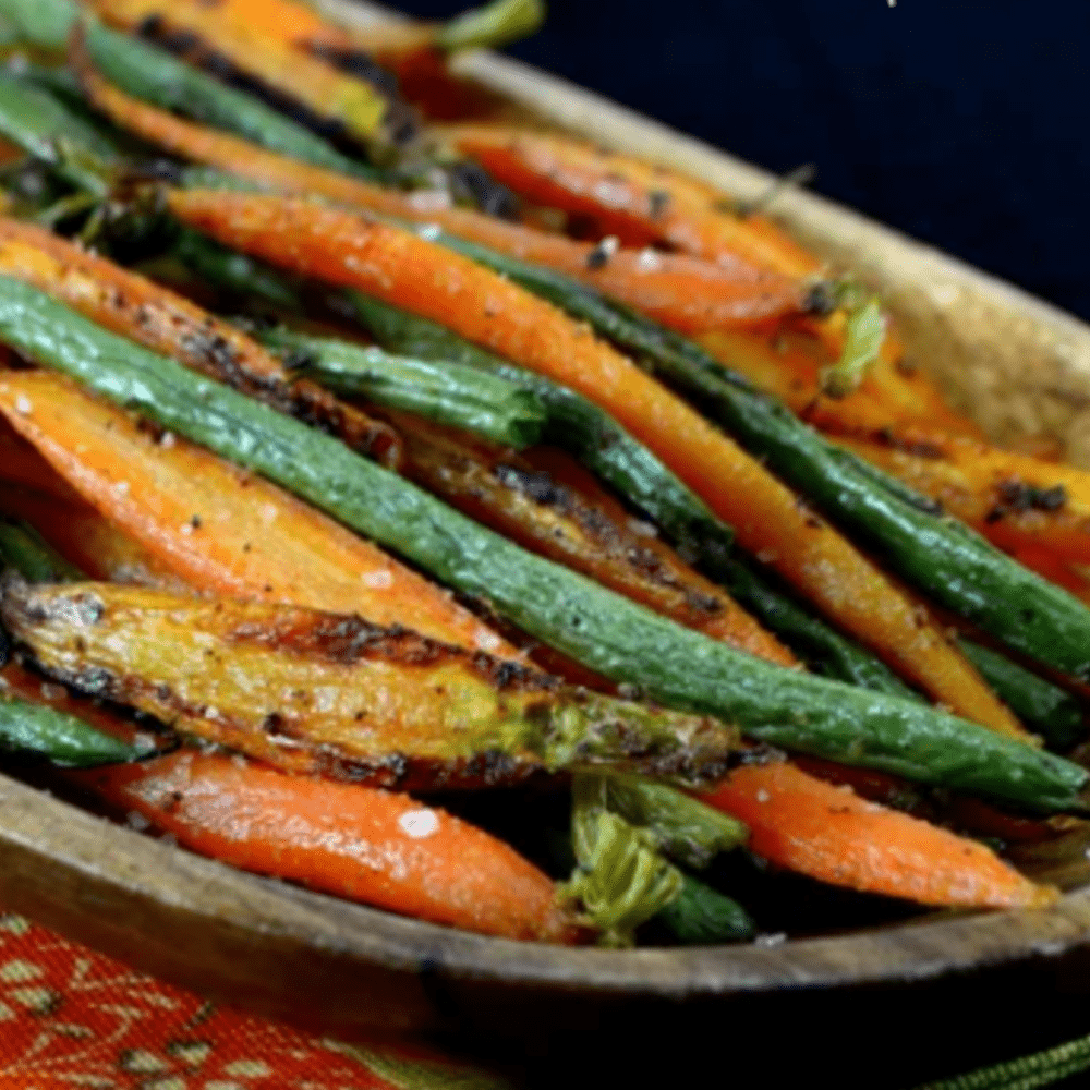 Haricot Vert & Baby Carrots - The Chef's Garden