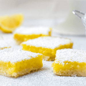 Rosemary Lemon Squares - The Chef's Garden