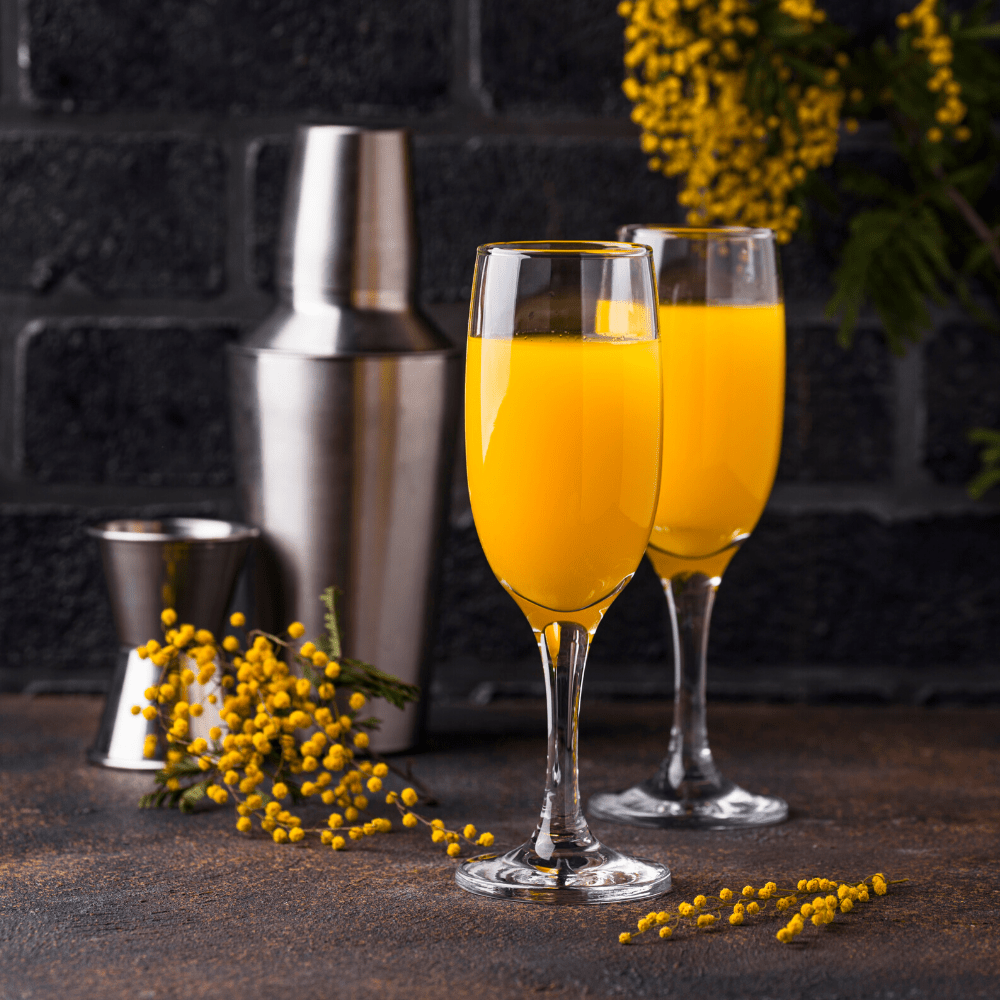 Mimosa Kit (Champagne + Choice of Juice) - The Chef's Garden