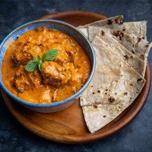 Butter Chicken and Roti Virtual Cooking CLass