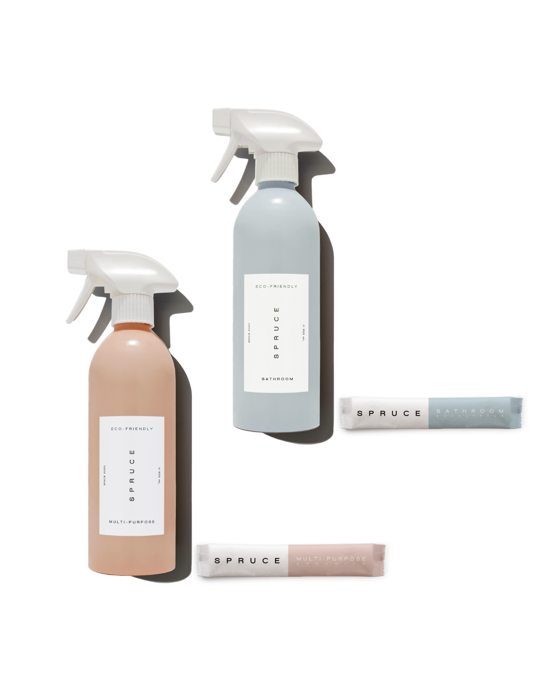 Spruce refillable, plastic free cleaning products