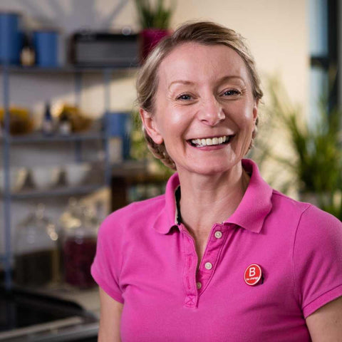 Jo Chidley CEO Beauty Kitchen Refillable Products