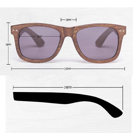 2ee8c0948b Proof Ontario Wooden Sunglasses (Polarised