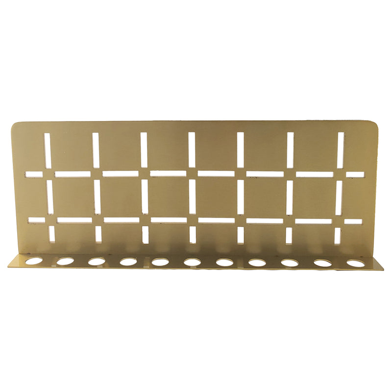 FROSCH Stainless Steel Shower Shelf, Wall (Brushed Brass)