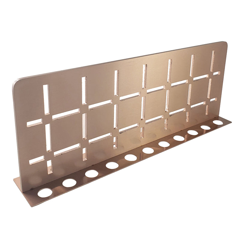 FROSCH Stainless Steel Shower Shelf, Wall (Brushed Copper)