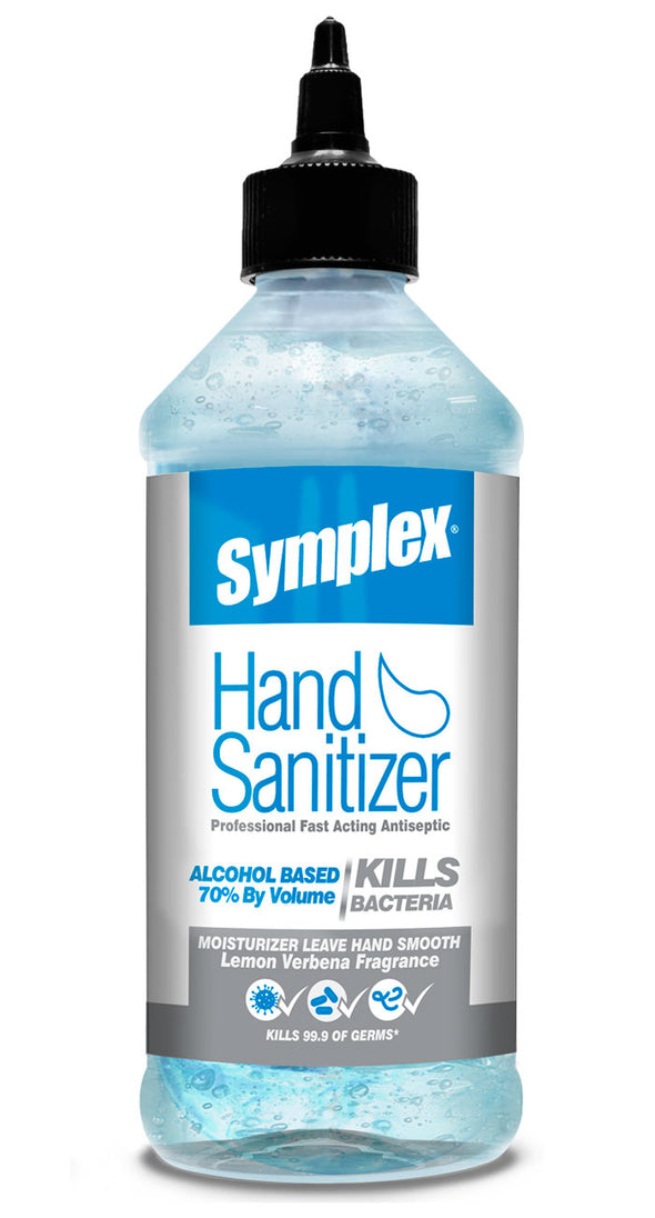 Symplex® Hand Sanitizer Gel 70% Alcohol | Lemon Verbena Premium Fragance
