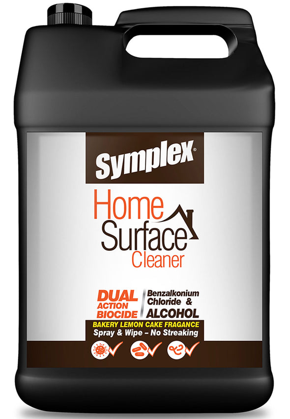 Home Surface Cleaner - Dual Action Biocide Benzalkonium Chloride + Alcohol