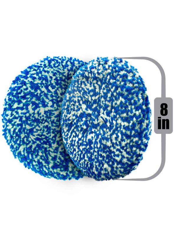 "Pad Extreme 100 % Wool Twisted Double Sided 8"" inches"