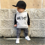 Oh Boy Toddler Boy Hoodie & Pants