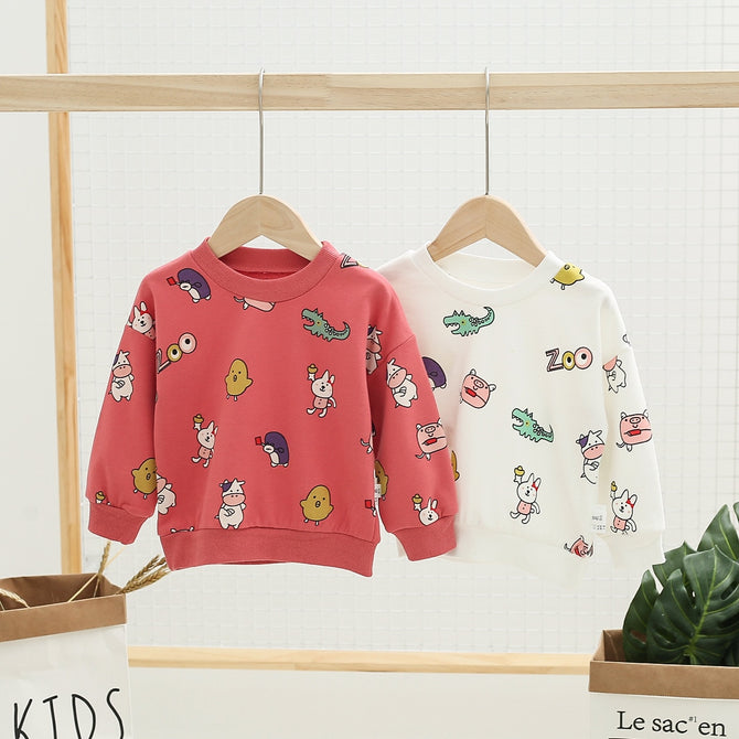 Cute Cartoon Animal Sweater