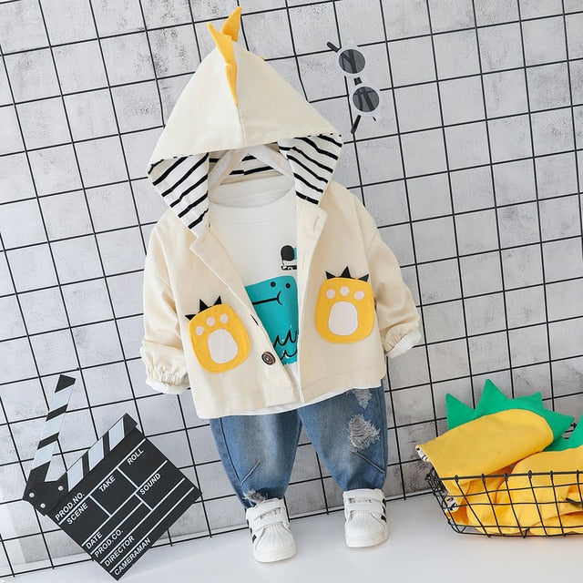 Dino Fresh Toddler/ Baby Outfit Set