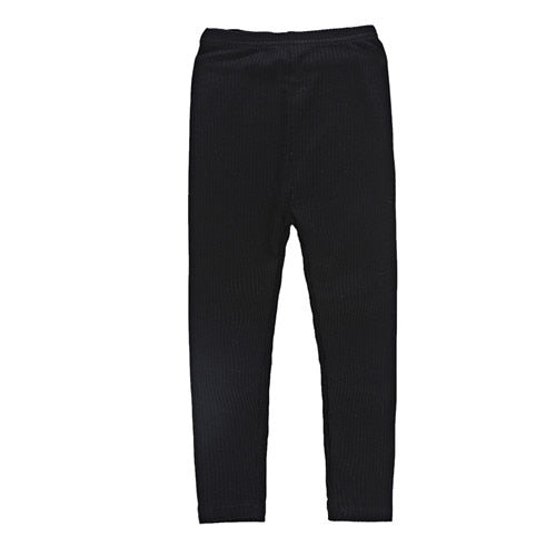 Stay Warm Toddler/Girls Ribbed Leggings