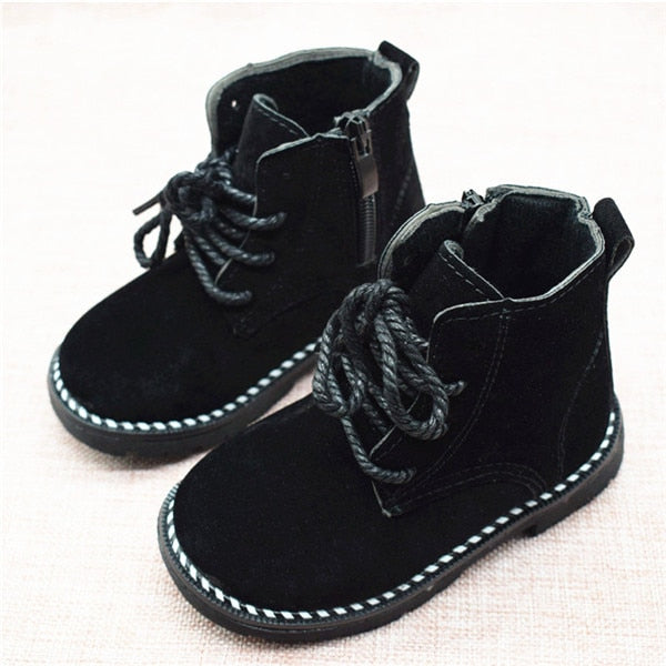 Fall in Fashion Baby Boy Ankle Boots