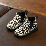 Leopard Print Toddler Ankle Boot