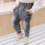 Ruffles, Dots, and Bow's OH MY Toddler/Girl Pants