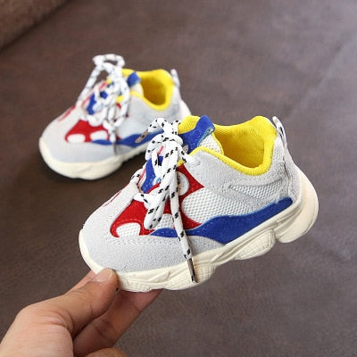 90's Inspired Baby/ Toddler Tennis Shoes