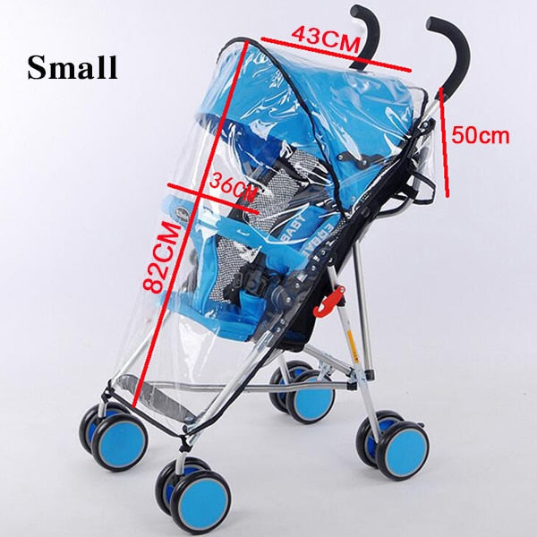 Baby Stroller Waterproof Rain Shield