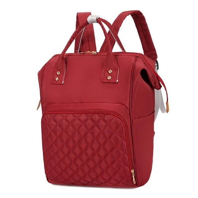 Classic Quilted Diaper Bag