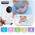 4.3 Inch High Resolution Wireless Video Baby Monitor