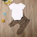 The Wild One Cute Fox Baby Boy Outfit