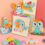 Come to Life High quality 3D Wooden Kids Puzzle