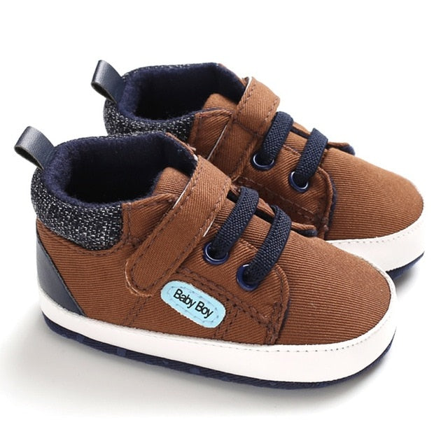 Falls Favorite Baby Boy Canvas Sneaker