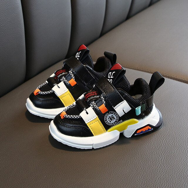 Strap Up Your Game toddler/Kids Sneaker
