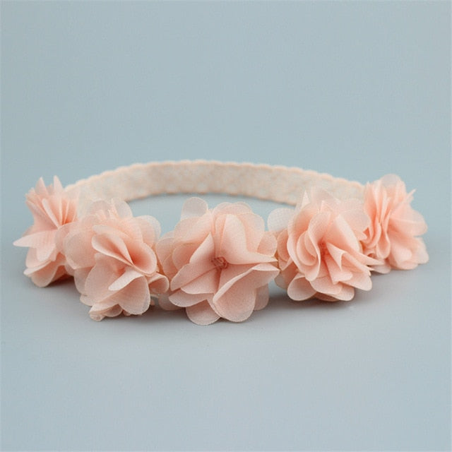 Pretty as a Rose Baby/Girls Flower Headband