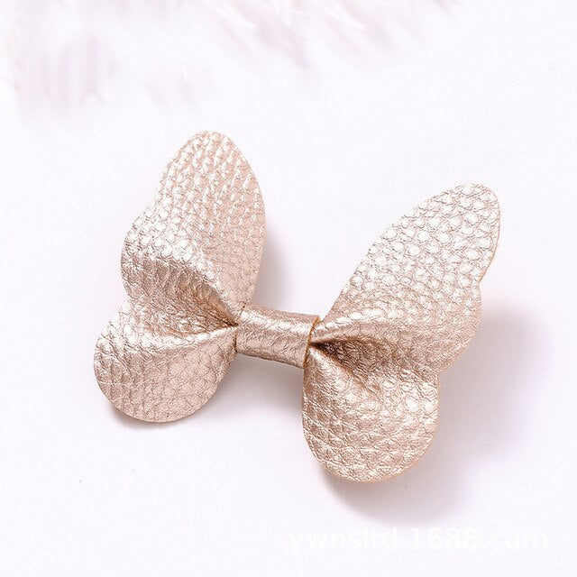 Metallic Butterfly Hair Clip