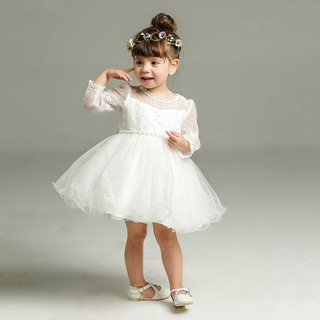 Classically Pretty Baby Girl Event Gown